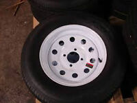 I am looking For trailer Rims    4 inch   4 bolts    in any size