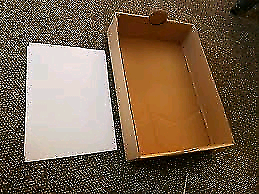 cardboard box tray 2 for $1