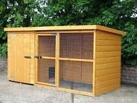dog kennel and runs