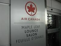 Air Canada Maple Leaf LOUNGE GUEST PASS...upto 4 available