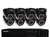 cctv security camera kit system hd