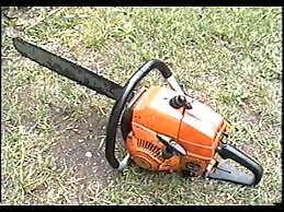 retired and looking for chainsaws running or not for repair