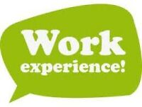 4 WEEK UNPAID WORK EXPERIENCE LEADING TO A FULL TIME ROLE, EMAIL YOUR CV NOW!!
