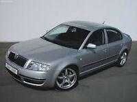 2003 skoda superb 1.9tdi and 2001 volswagen polo 1.4tdi