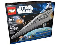 LEGO Star Wars Super Star Destroyer BNIB RARE set 10221