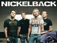 1,2 or 3 Nickelback Tickets tonight hydro glasgow great seats 202 row A !