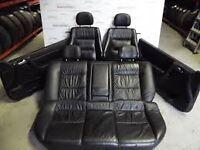 mk4 astra full heated black leather interior