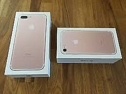 iPhone 7 Rose Gold 32 GB Brand New