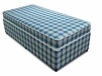 Brand New Single Comfy Bed set in blue FREE delivery Great Value