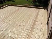 Decking boards 32x125mm