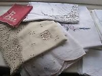 Large Selection On Vintage Linen