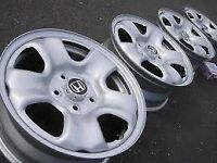 "16"" OEM Honda steel wheels"