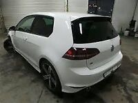 VW GOLF R MK7 BREAKING FRONT END ALLOYS AIRBAG KIT DOORS EXHAUST LIGHTS SUSPENSION ENGINE