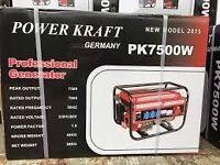 Generator 7500w new in box