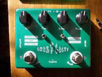 guitar pedals flanger boss distortion