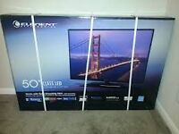 50 inches DLED Element TV available  with 3 HDMI ports