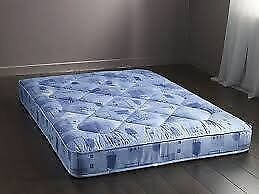 4.6 Quality Sprung Quilted Mattress - New