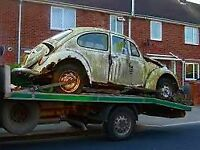 Scrap and general cars bought for cash