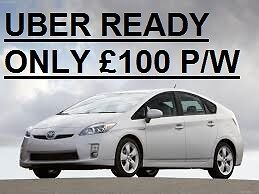 TOYOTA PRIUS UBER READY **ONLY £100 PER WEEK** CHEAPEST IN LONDON