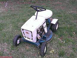 Old Lawnmowers or Power Equipment for High School Auto Class