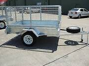 BOX TRAILERS WITH CAGE FOR HIRE CAR TRAILERS Dapto Wollongong Area Preview
