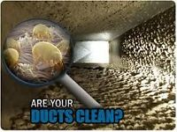 DUCT CLEANING ONLY $189.99 INCLUDE FURNACE CLEAN & SANITIZER