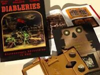 Diableries Stereoscopic book with viewer