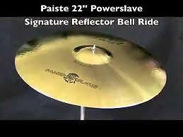 paiste powerslave signature reflector series ride,