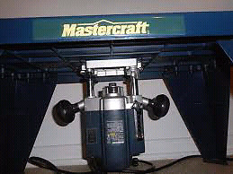 Master craft plunge router