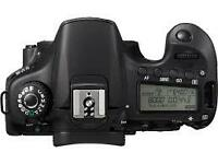 Like new Canon DSLR EOS 60D Body in Box