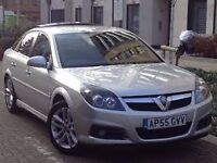SUPERB 2006 VAUXHALL VECTRA 18 LIFE 5 DOOR HATCHBACK, ALLOYS, C/D PLAYER, 1 OWNER, LONG MOT