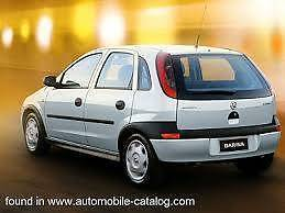 Wrecking Holden XC Barina 01-05 Call us for XC Barina spare parts