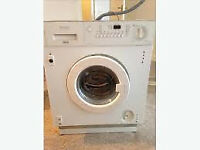 built in washing machine