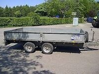 Ifor Williams 12,14 & 16 foot flat bed trailers in good condition