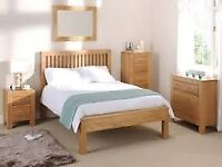 WANTED light solid or veneer oak furniture WANTED.