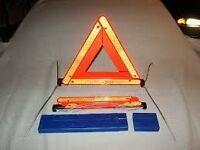BMW warning triangle with original case