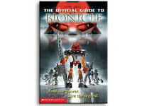 THE OFFICIAL GUIDE TO BIONICLE COLLECTOR BOOK