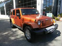 2011 Jeep WRANGLER UNLIMITED 1 TAX Seulment 2 TOIT/CUIR MANUEL