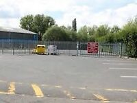 Wanted industrial unit land yard ect looking to rent