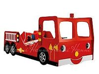 Fire Engine Kids Bed - 2nd Hand
