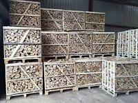 Top Quality Kiln Dried Ash Hardwood Logs in Pallet