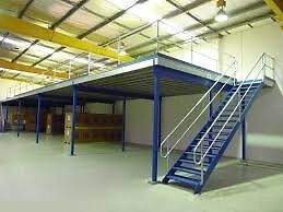 MEZZANINE FLOOR 7M X 6M WITH STAIRS REDUCED!!( STORAGE , PALLET RACKING )