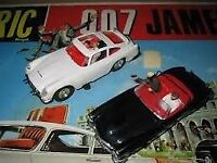wanted old 1960s scalextric cars and sets old james bond scalextric sets also wanted