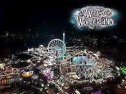 x2 Winter wonderland Bar Ice tickets