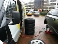 Mobile Tyre Fitting Service. Car.. Commercial...CALL OUT puncture repair.. 07917810915