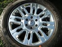2010 or newer Ford F150 Platinum Wheels and Tires