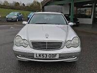 Great Value 2003 53 Mercedes C Class 220CDI Diesel Classic Automatic 95000 Miles Jan 2018 MOT !!!