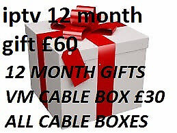 12 MONTH LINES GIFTS SKYBOX CABLE COMBO OPENBOX MAG BOX ALL BOXES ISTAR MUTANT EVO