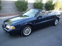 (RARE)1999 VOLVO C70 LT TURBO MIDNIGHT BLUE CONVERTIBLE