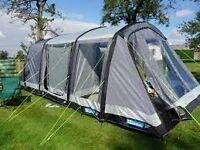 Kampa Hayling Air Tent and camping equipment